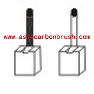 Fiat carbon brush,carbon brush for automobile,car carbon brush,Fiat 91190 JSX 38-39-40(3) 1-JS 39(-) 1-JS 39-40(+)